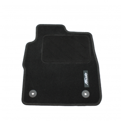 Front & rear carpet mats set