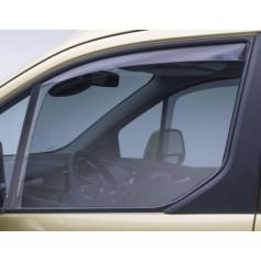 Climair Front Door Wind Deflectors Transparent Transit Tourneo Connect