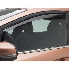 Climair Front Door Wind Deflectors Black Fiesta 5 Door