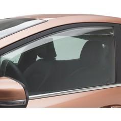 Climair Front Door Wind Deflectors Transparent Fiesta 5 Door