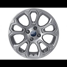 """EcoSport Alloy Wheel 17"""" x 7.0J Shadow Silver 10 Spoke from 06-11-2017 Onwards"""