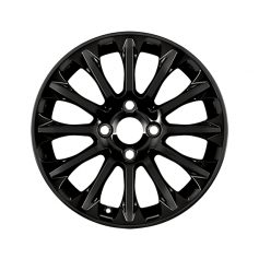 "Alloy Wheel 16"" x 6.5J Panther Black 12 Spoke"