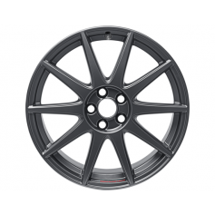 "Focus Alloy Wheel 18"" x 8J Magnetite Matt with Performance Logo 10 Spoke"