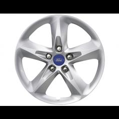 """Alloy Wheel 16"""" x 7J Silver 5 Spoke"""