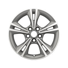 "Alloy Wheel 16"" x 7J Arctic Grey Machined 5 x 2 spoke"