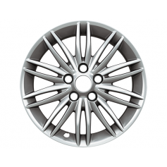 "Alloy Wheel 16"" x 7J Sparkle Silver 10 x 2-spoke"