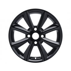 "Fiesta Alloy Wheel 16"" x 6.5J Black 8 Spoke from 15-05-2017 onwards"