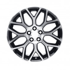 "Alloy Wheel 18"" x 8J Silver 8 'Y' Spoke"