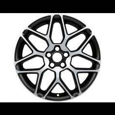 """Alloy Wheel 19"""" x 8J Black Machined 7 'Y' Spoke"""