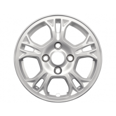 "Alloy Wheel 14"" x 5.5J Sparkle Silver 5 x 2 Spoke"