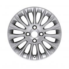 """Fiesta Alloy Wheel 16"""" x 6.5J Silver 15 Spoke from 05-11-2012 to 15-05-2017"""