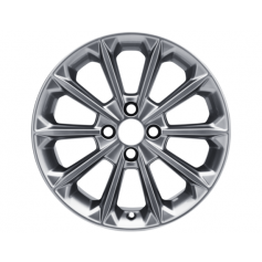 "Fiesta Alloy Wheel 17"" x 7J Luster Nickel 10 Spoke from 15-05-2017 onwards"