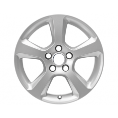 "Alloy Wheel 16"" x 7J Silver 5 spoke"