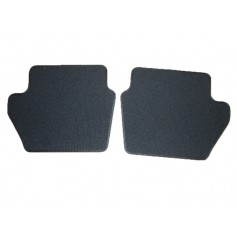 Ford Fiesta Rear Mat Set To Match Front Mats with Ford Performance Logo From 15-05-2017 Onwards