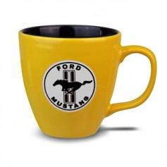 Ford Mustang Coffee Mug in Bright Yellow