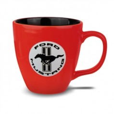 Ford Mustang Coffee Mug in Red