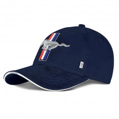 Ford Mustang Cap Navy Blue