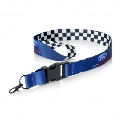 Ford Performance Chequered Flag Lanyard