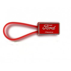 Ford Fiesta Keyring Colours In Red