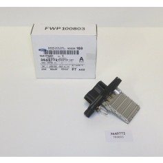 Heater fan resistor