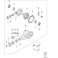 Differential Case Oil Seal