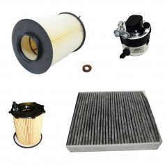 Ford Focus 1.6L DOHC Diesel Engine Stage IV + DPF Emissions Service Kit From 03-12-2007 To 31-07-2011