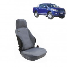 Ranger Front RH or LH Seat Heavy Duty Seat Cover Grey From 2011 to 2015