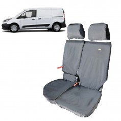 Connect Front LH Passenger Double Seat Heavy Duty Seat Cover Black from 2014 onwards