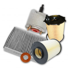Transit & Tourneo 2.2L Duratorq Diesel with Paper element type oil filter without diesel particulate filter front wheel drive and 4 wheel disc brakes From: 24-08-2009 To: 15-11-2010 Service Kit