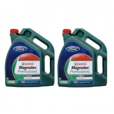 5w30 Castrol Magnatec Professional Oil 2 x 5Ltrs Ford Specification WSS-M2C913-B, WSS-M2C913-C, WSS-M2C913-D