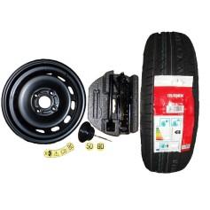 Ford Fiesta 14'' Spare Wheel Kit Plus Tyre 2012- 2017