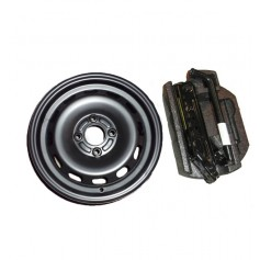 Fiesta 14'' Spare Wheel Kit From 06-10-2008 To 22-12-2012