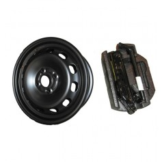 Fiesta 15'' Spare Wheel Kit From 21-07-2008 To 22-12-2012