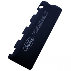 Mustang 5.0L Coyote Black Coil Covers, with Ford Racing Logo