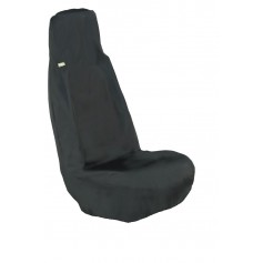 Universal Front RH or LH Seat Heavy Duty Seat Cover Black