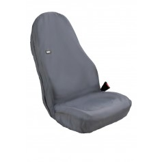 Universal Winged Front RH or LH Seat Heavy Duty Seat Cover Black
